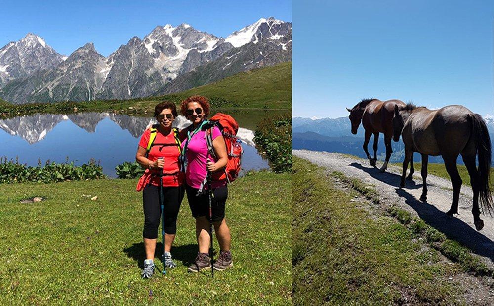 Gürcistan Mestia Svaneti Trekking Turu