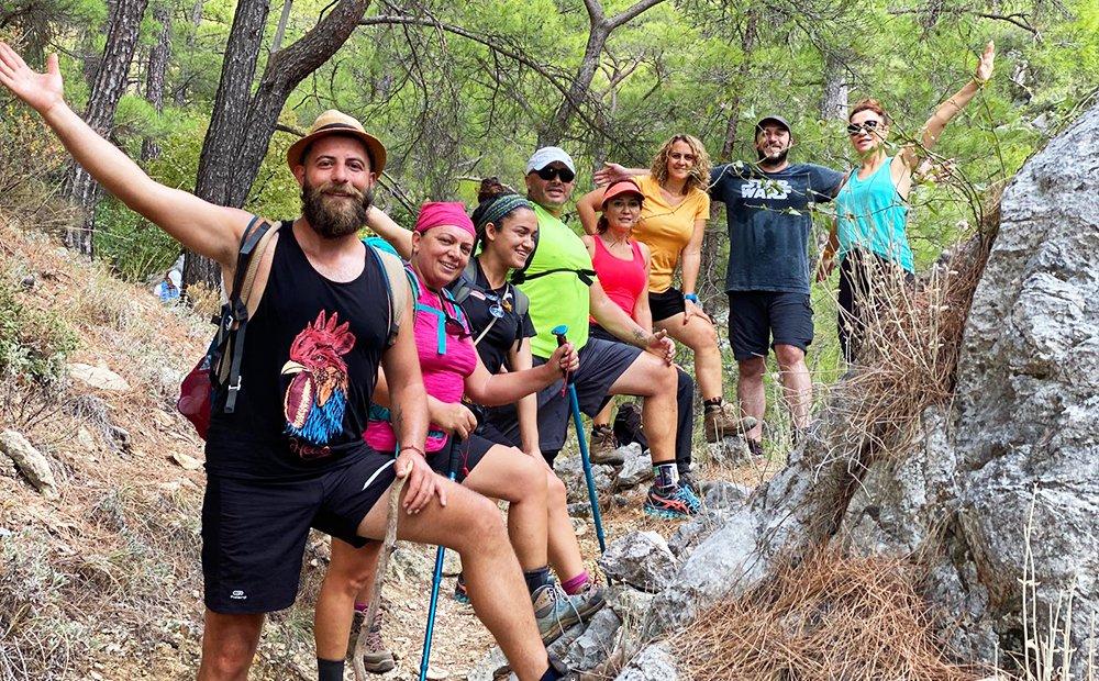Likya Yolu Kaş Olympos Trekking Turu